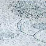 Dandelion King Size Çok Amaçlı Örtü 240x220 Cm Mavi