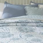 Dandelion Tek Kişilik Çok Amaçlı Yatak Örtüsü 160x220 Cm Mavi