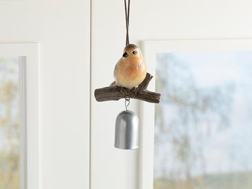 Bird Tweet Polyresin Askılı Aksesuar 9.2*8.2*15cm Kırmızı