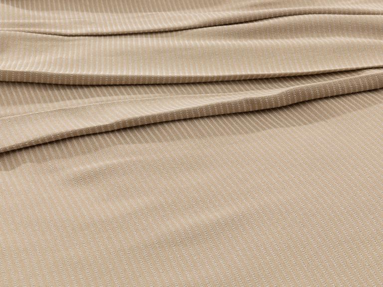 Cool Stripe Soft Touch Tek Kişilik Pike Seti 150x220 Cm Bej