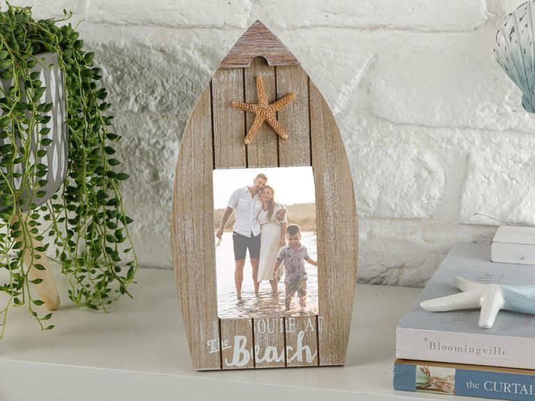 Starfish Wood Çerçeve 27x14,5x2 Cm Ahşap