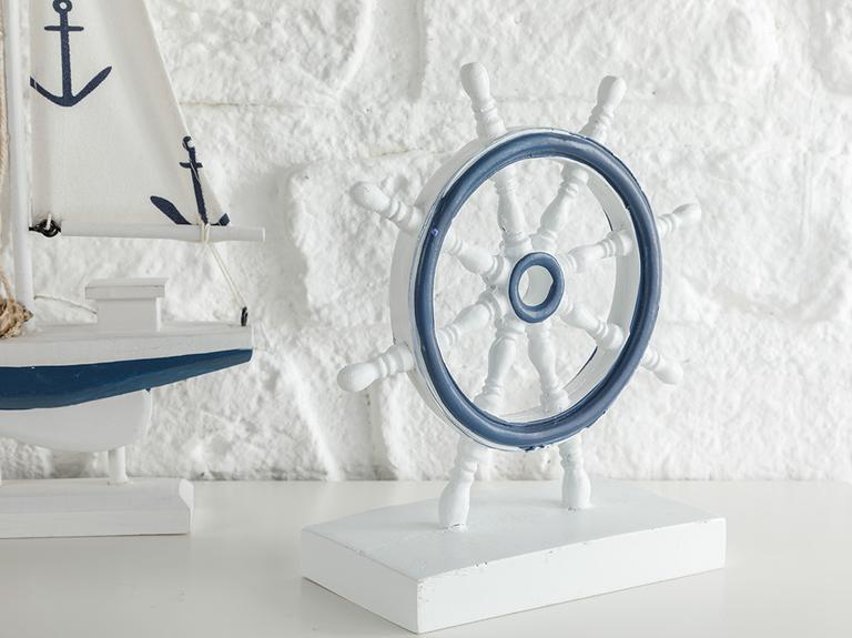 Mariner Mdf Dekoratif Obje 13*7*17 Cm Beyaz