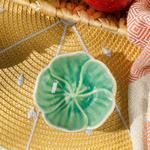 Flora Stoneware Çerezlik 8,5 Cm Yeşil