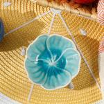 Flora Stoneware Çerezlik 8,5 Cm Mavi