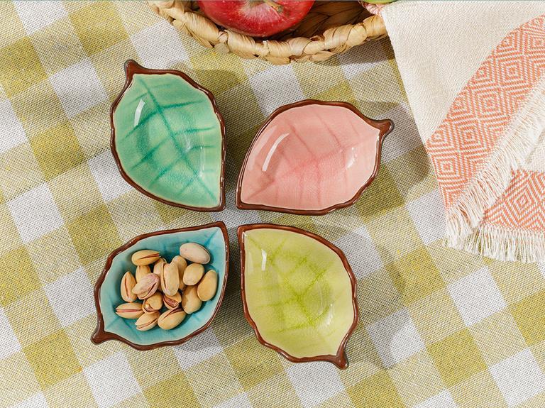 Randa Stoneware Çerezlik 9,5 Cm Sarı