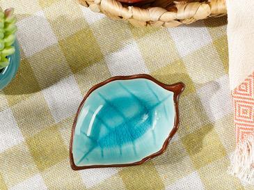 Randa Stoneware Çerezlik 9,5 Cm Mavi