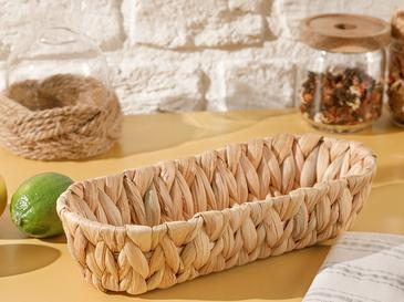Lukas Hasır Ekmek Sepeti 28 Cm Kahve