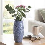 Hortensia Porselen Vazo 10.1*10.1*21.2 Cm Lila
