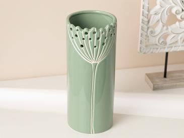 Dandelion Vazo 9.4x9.4x22.8 Cm Yeşil