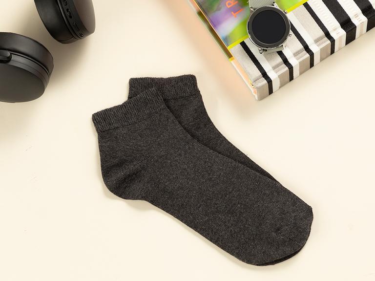 Simple Pamuk Erkek Çorap Antrasit