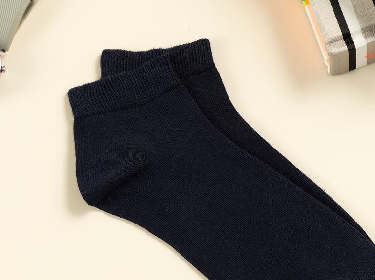Simple Pamuk Erkek Çorap Lacivert
