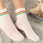 Colourful Joy Pamuk Kadın Uzun Konçlu Çorap Pembe