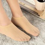 Violet Kadın File Babet Çorap Ten