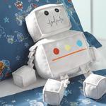 Robot Dekoratif Yastık 36x28 Gri