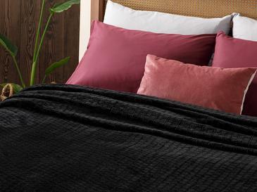Delicate Super Soft Çift Kişilik Battaniye 200x220 Cm Siyah