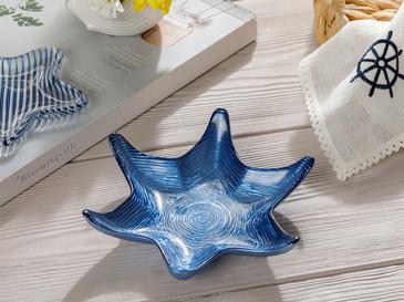 Starfish Cam Çerezlik 18 Cm Lacivert