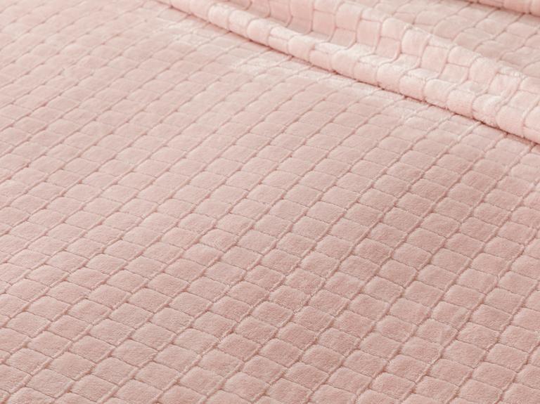 Delicate Super Soft Tek Kişilik Battaniye 150x200 Cm Pembe
