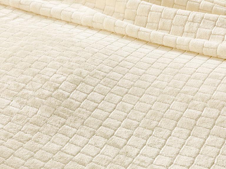 Delicate Super Soft Çift Kişilik Battaniye 200x220 Cm Krem