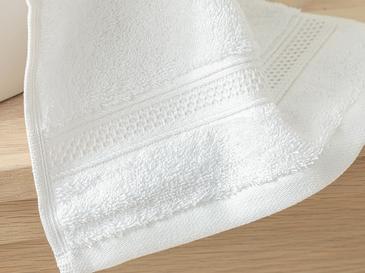 Wave Fluffy El Havlusu 30x30 Cm Beyaz