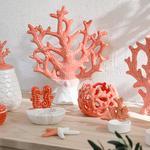 Coral Dekoratif Obje 23x7,4x27 Cm Turuncu