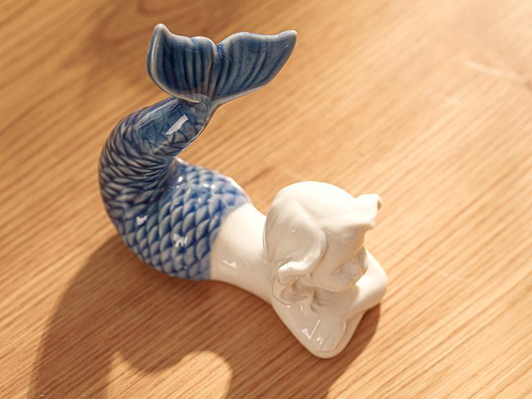 Mermaid Biblo 8x4,5x7 Cm Mavi