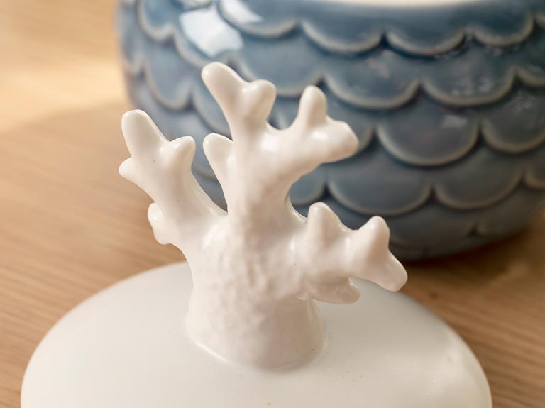 Coral Dekoratif Kutu 9,3x9,3x11,5 Cm Mavi