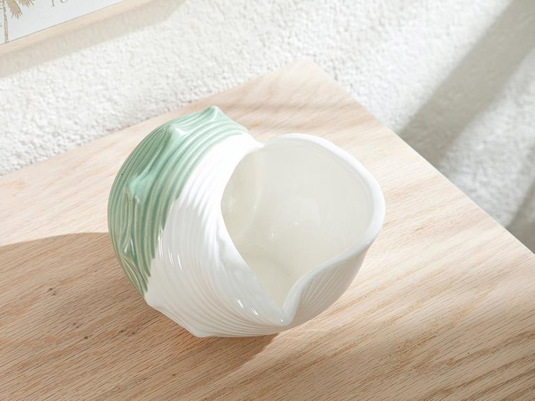 Seashell Dekoratif Obje 14,7x12,3x8,7 Cm Yeşil