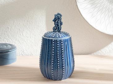 Seahorse Dekoratif Obje 11,4x10,7x20,5cm Mavi