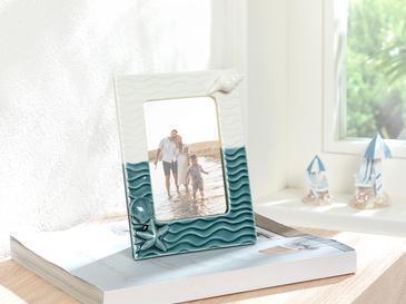 Undersea Animals Çerçeve 15,9x19,1x2,4 Cm Mavi