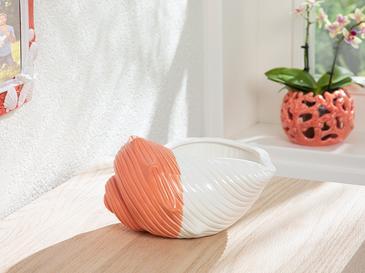 Seashell Dekoratif Obje 19,5x16,1x10,5 Cm Turuncu