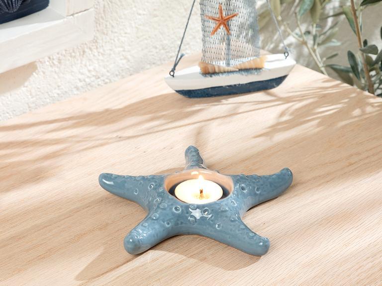 Starfish Mumluk 14.7x14.3x2.5 Cm Mavi