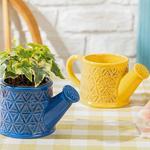 Lovely Garden Saksı 20.5x10.7x9.2 Cm Sarı