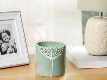 Dandelion Saksı 15.8x15.8x15.5 Cm Yeşil