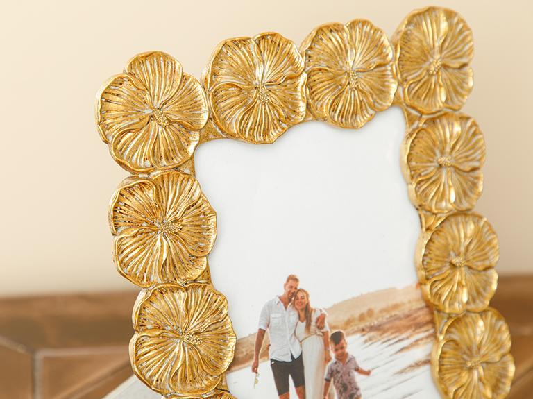 Pansy Çerçeve 17.8x22.8x1.8cm Gold