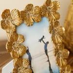 Flowers Çerçeve 16.5x21.5x2cm Gold