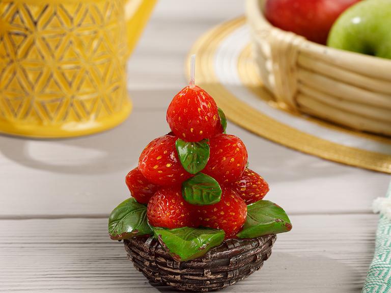 Strawberry Mum 8x8x16 Cm Kırmızı
