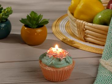 Cupcake Cafe Mum 7x7x7 Cm Pembe