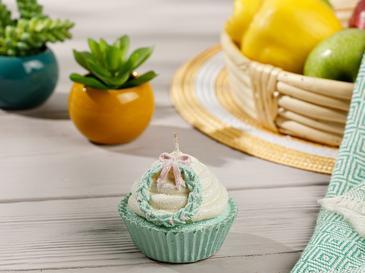 Cupcake Mum 7x7x7 Cm Krem