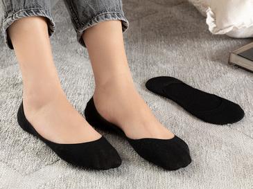 Simplicity Bambu 2'li Kadın Babet Çorap Siyah