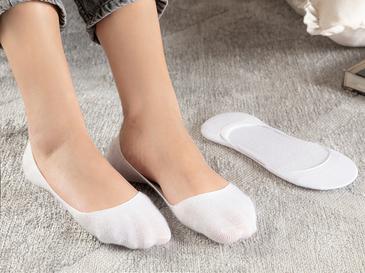 Simplicity Bambu 2'li Kadın Babet Çorap Beyaz