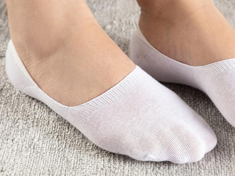 Simplicity Bambu 2'li Kadın Çorap Beyaz