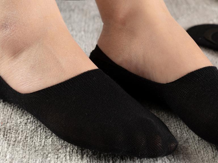 Regular Pamuk 2'li Kadın Çorap Siyah