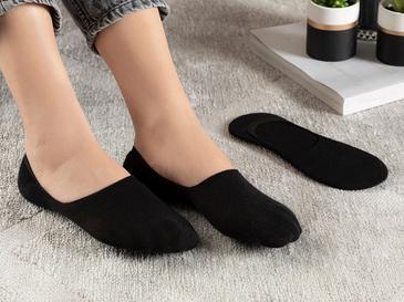 Regular Pamuk 2'li Babet Çorap Siyah