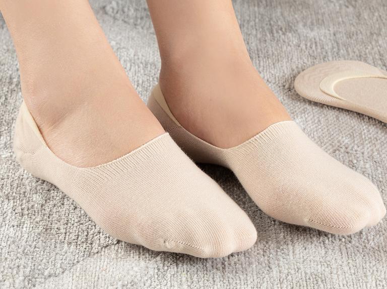 Regular Pamuk 2'li Kadın Çorap Ten