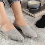 Regular Pamuk 2'li Kadın Çorap Siyah- Gri