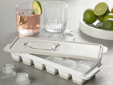Creative Plastik Kapaklı Buz Kalıbı 8,9x25,3x3,9 Cm Bej