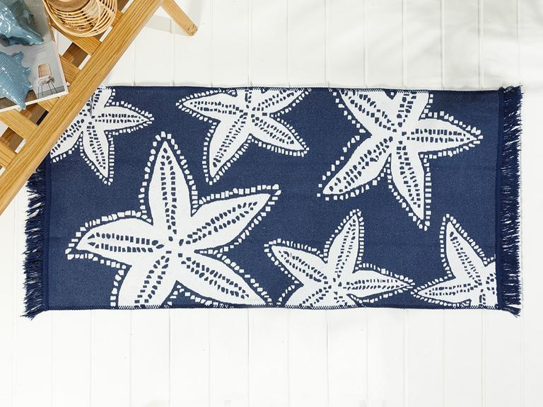 Sea Star Dokuma Kilim 60x100 Cm Lacivert