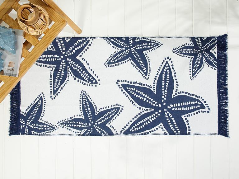 Sea Star Dokuma Kilim 80x150 Cm Lacivert