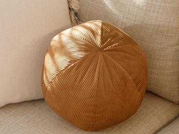 Ball Fitilli Dekoratif Kırlent 40 Cm Bej