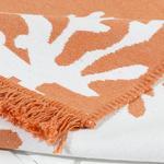 Coral Dokuma Kilim 80x150 Cm Turuncu